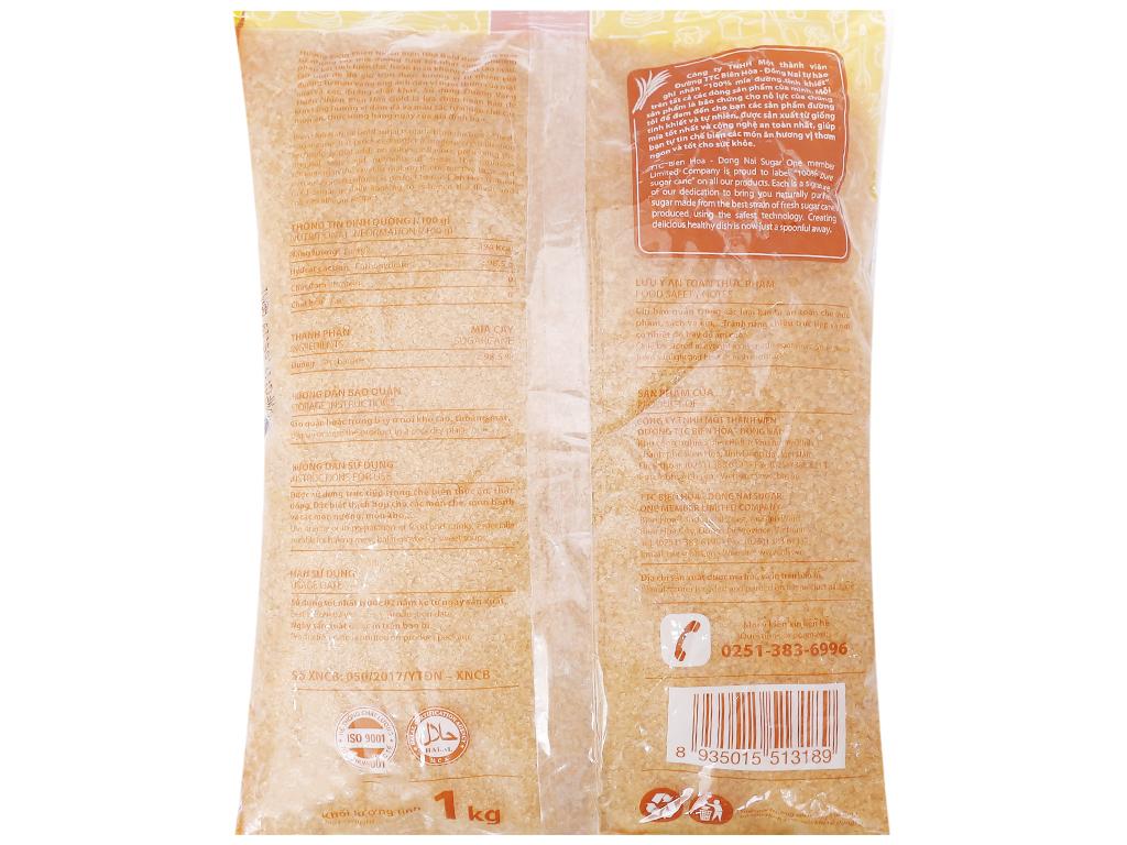 Đường vàng thiên nhiên Biên Hòa Gold gói 1kg 2