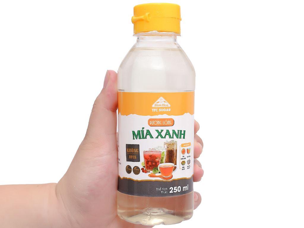 Đường lỏng Biên Hòa Mía Xanh chai 250ml 5