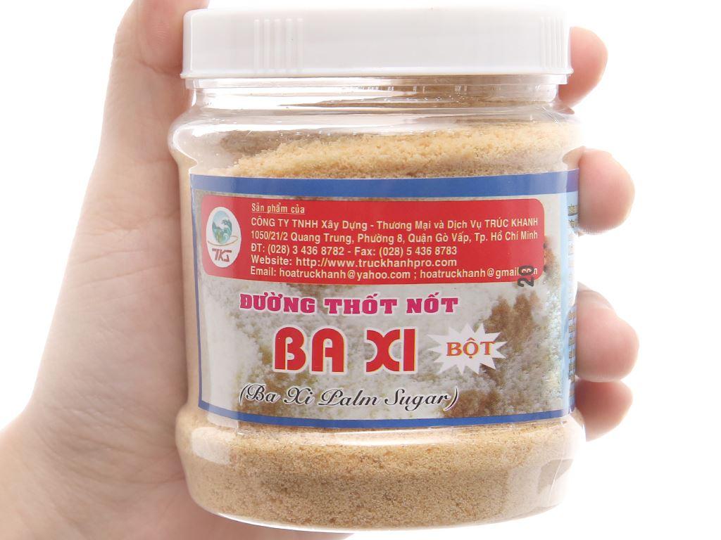 Đường thốt nốt dạng bột Ba Xi hũ 200g 3