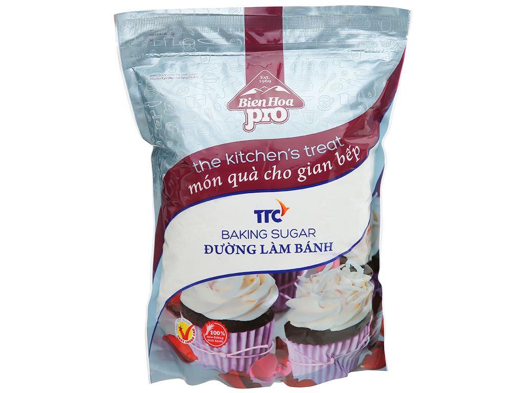Đường làm bánh Biên Hòa Pro gói 1kg 1