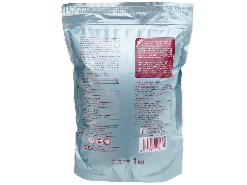 Đường làm bánh Biên Hòa Pro gói 1kg 2