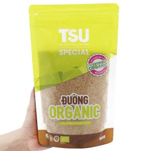 Đường nâu Organic TSU Special gói 500g