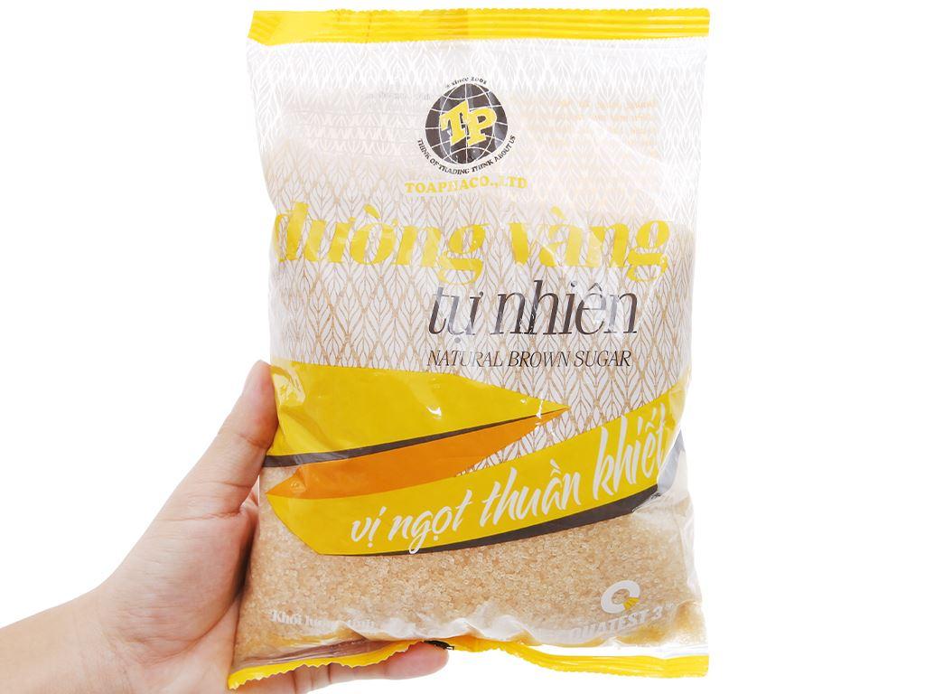 Đường vàng tự nhiên Toàn Phát gói 1kg 3