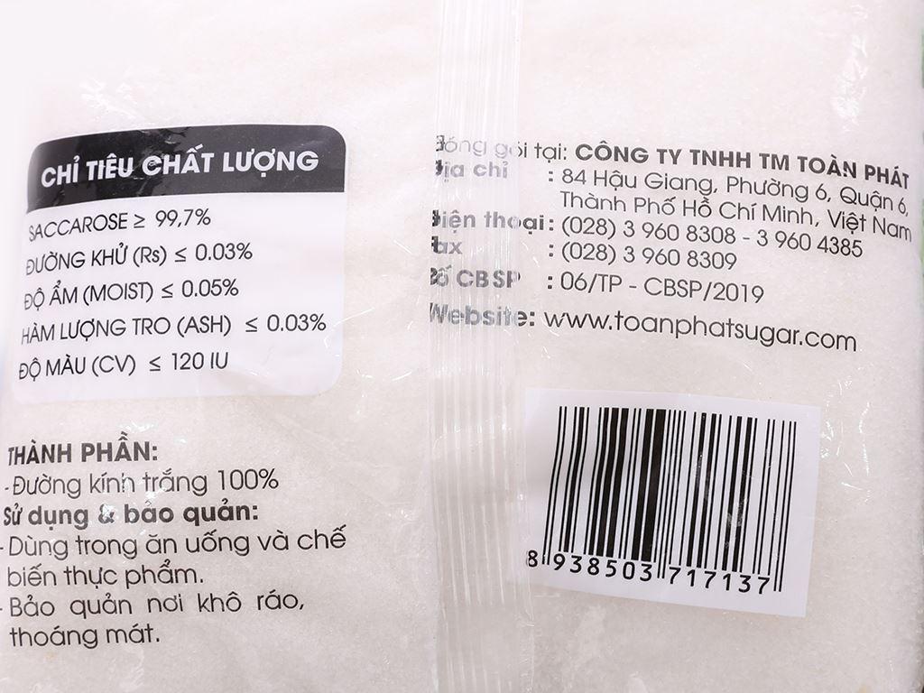 Đường mía Toàn Phát gói 1kg 5