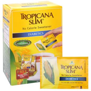 Đường ăn kiêng Tropicana Slim Diabetics hộp 100g (50 gói x 2g)