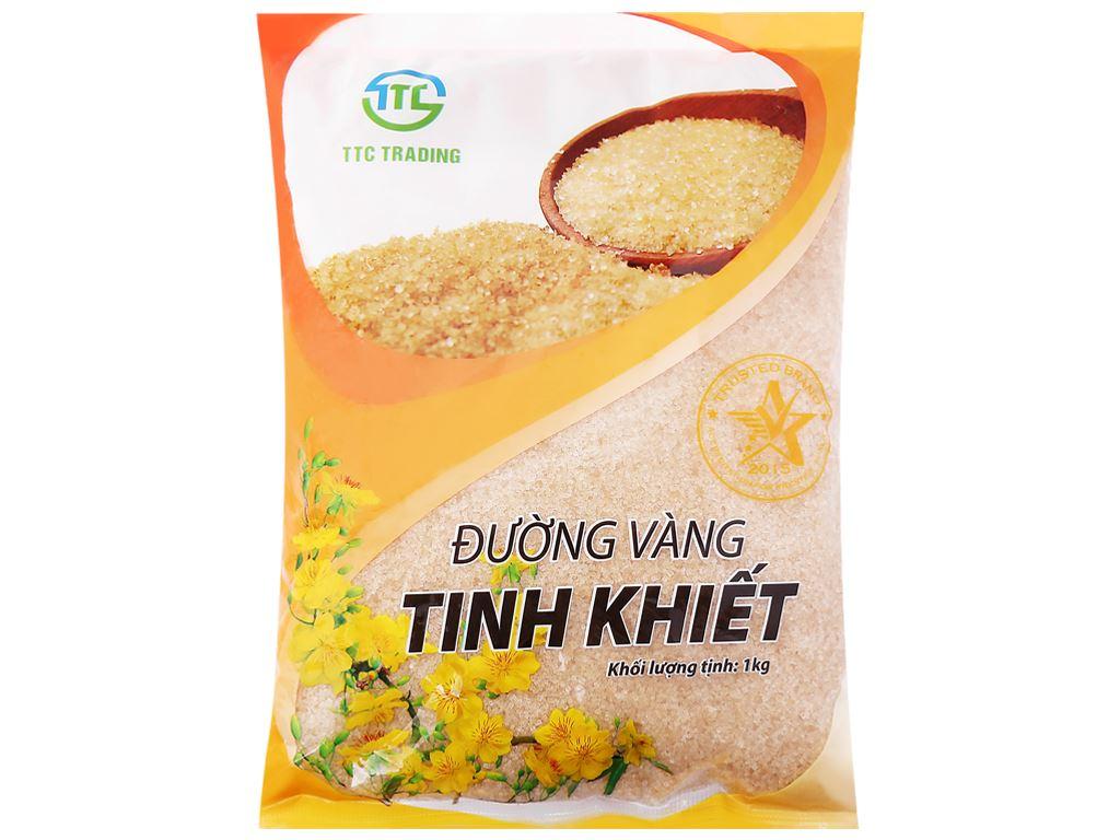Đường vàng tinh khiết TTC Trading gói 1kg 1