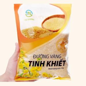 Đường vàng tinh khiết TTC Trading gói 1kg