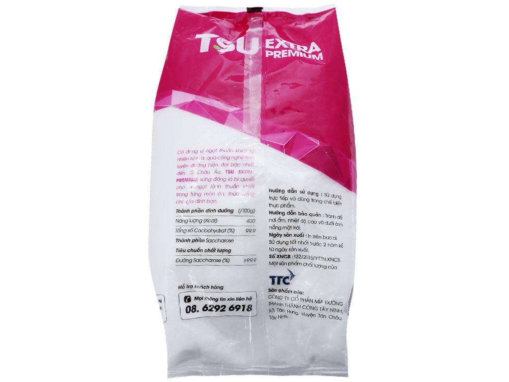 Đường tinh luyện thượng hạng TSU Extra Premium gói 1kg 2