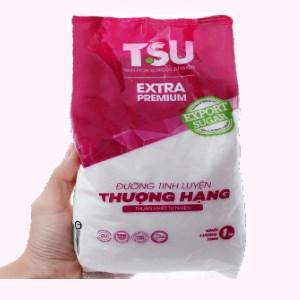 Đường tinh luyện thượng hạng TSU Extra Premium gói 1kg
