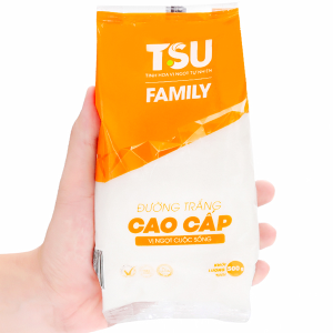 Đường trắng cao cấp TSU Family gói 500g