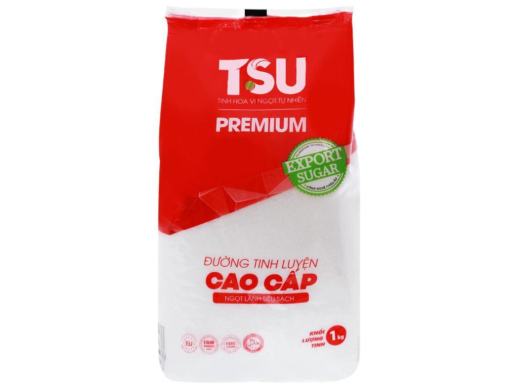 Đường tinh luyện cao cấp TSU Premium gói 1kg 2