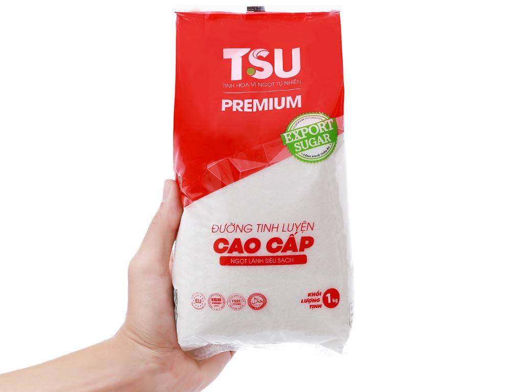 Đường tinh luyện cao cấp TSU Premium gói 1kg 5