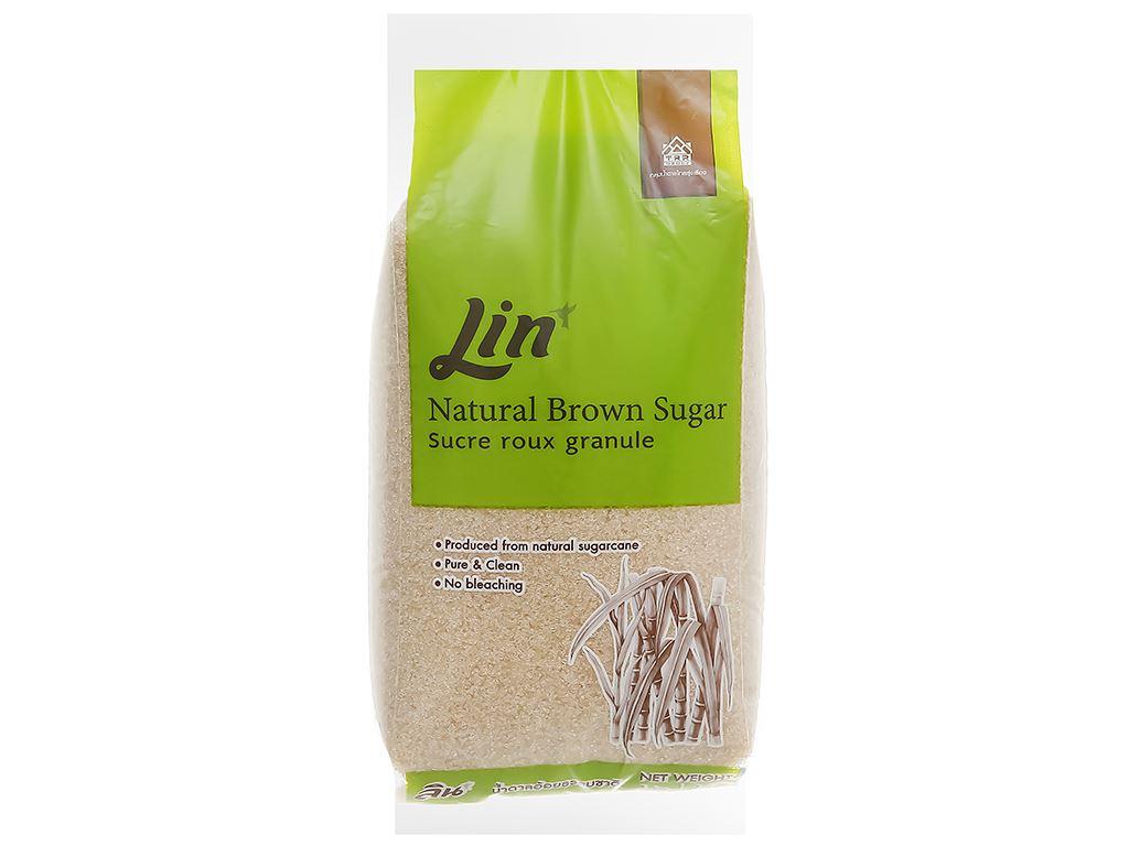Đường vàng tự nhiên LIN gói 1kg 1