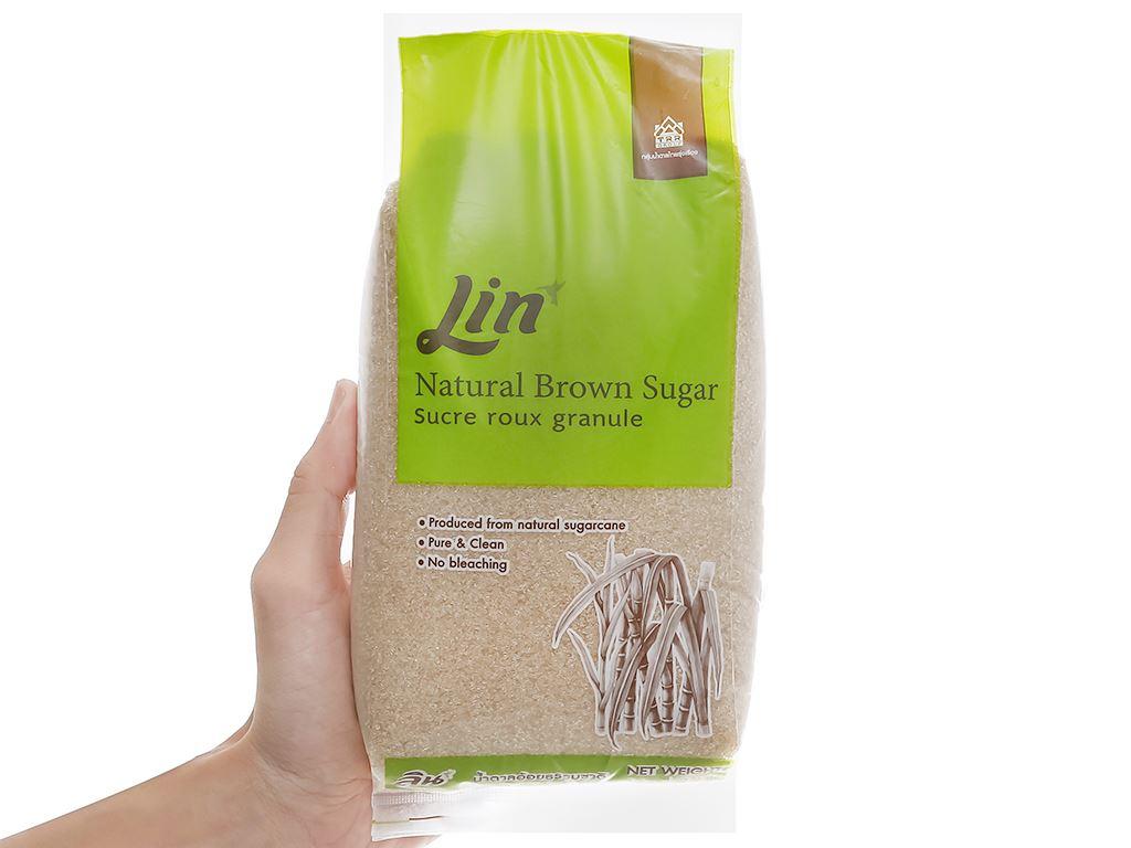 Đường vàng tự nhiên LIN gói 1kg 5