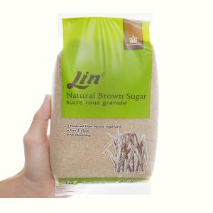 Đường vàng tự nhiên LIN gói 1kg