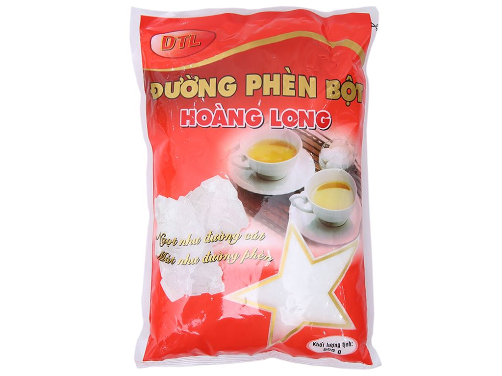 Đường phèn bột Hoàng Long gói 500g 2