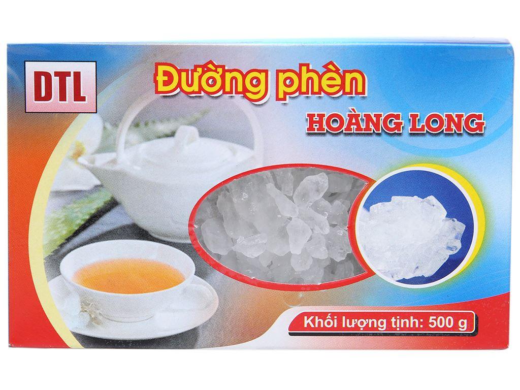 Đường phèn hạt to Hoàng Long gói 500g 1