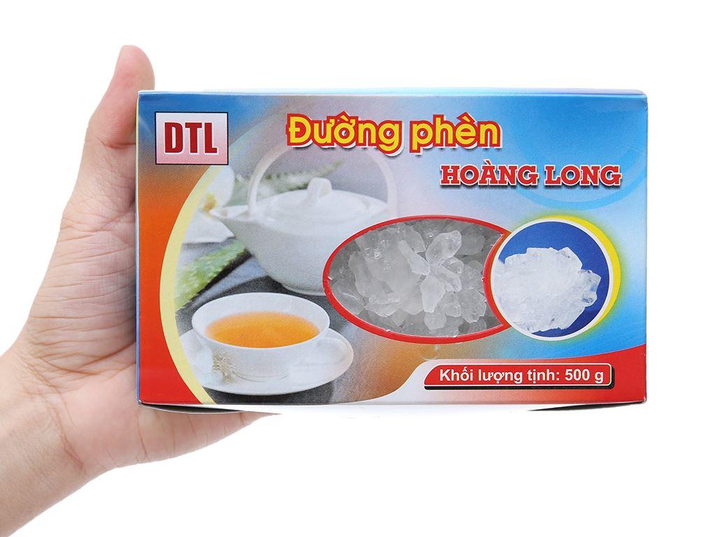Đường phèn hạt to Hoàng Long gói 500g 3