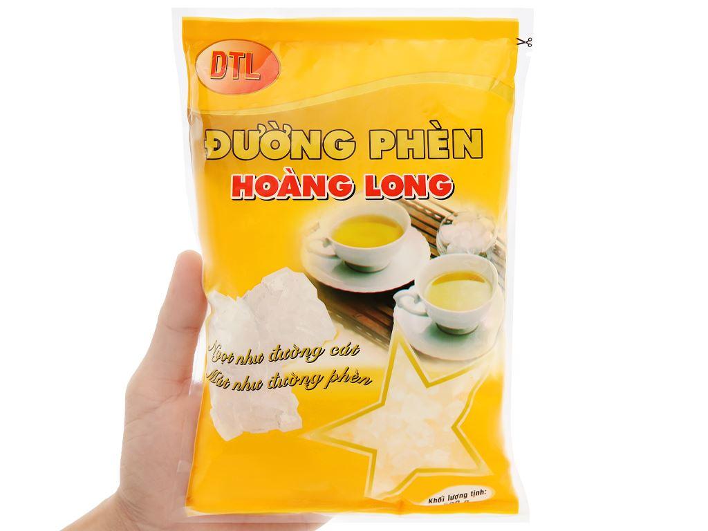 Đường phèn hạt to Hoàng Long gói 500g 14