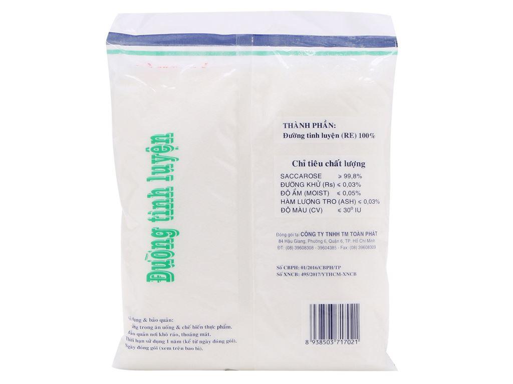 Đường kính trắng Toàn Phát gói 1kg 2