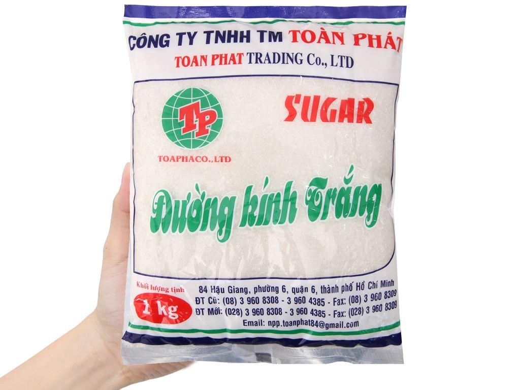 Đường kính trắng Toàn Phát gói 1kg 3