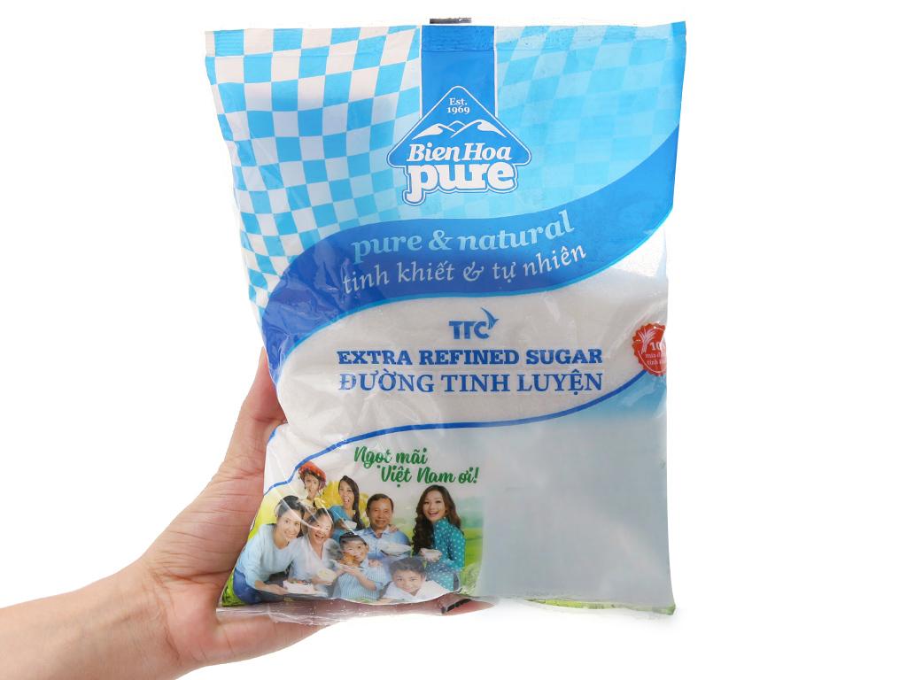 Đường tinh luyện Biên Hòa Pure gói 1kg 3