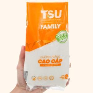 Đường trắng cao cấp TSU Family gói 1kg