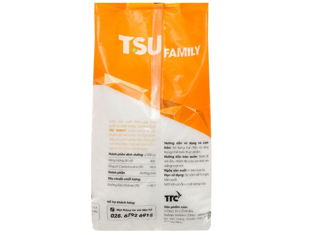 Đường trắng cao cấp TSU Family gói 1kg 2