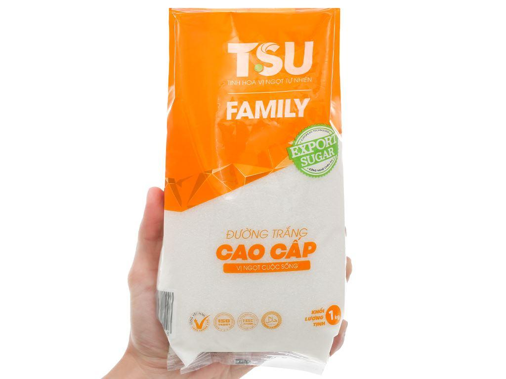 Đường trắng cao cấp TSU Family gói 1kg 5