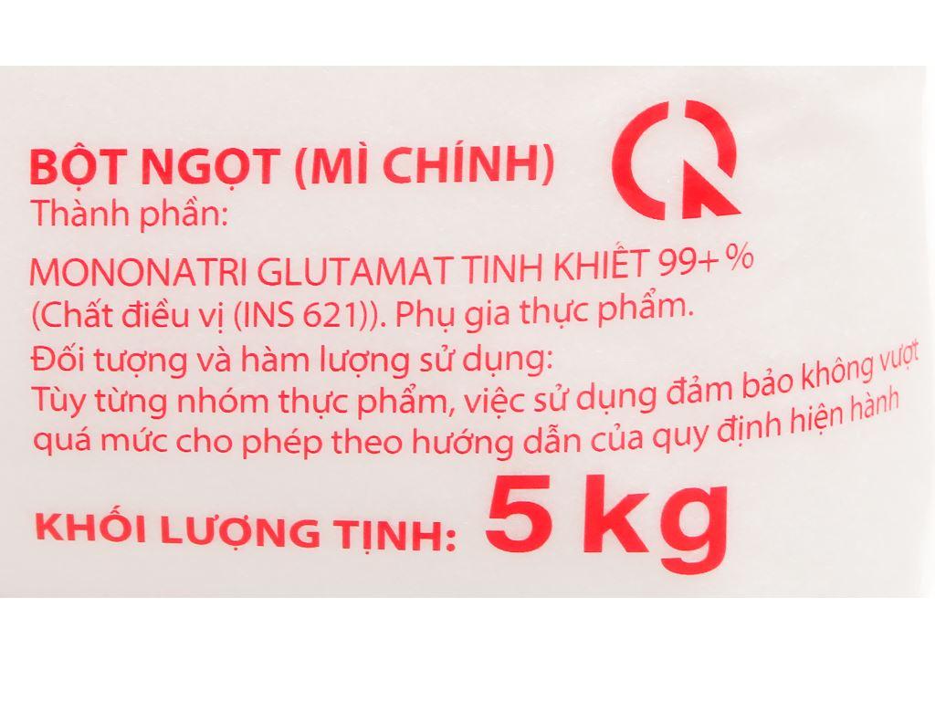 Bột ngọt Ajinomoto gói 5kg 3