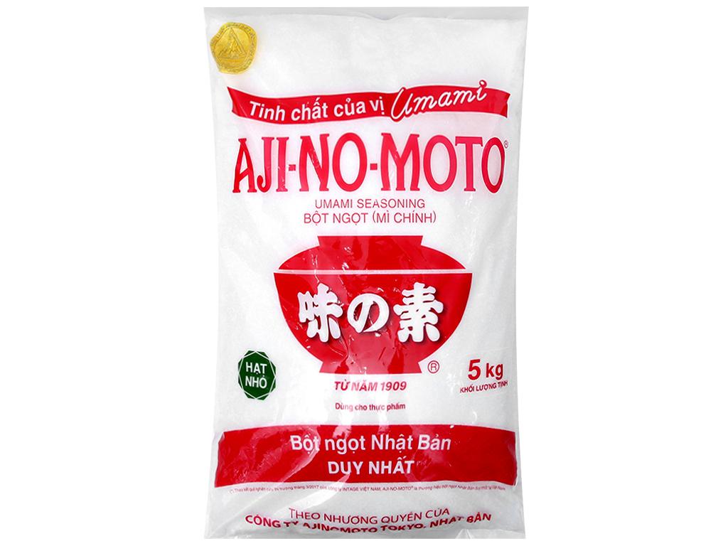 Bột ngọt Ajinomoto hạt nhỏ bịch 5kg 2