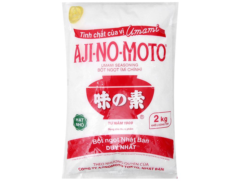 Bột ngọt Ajinomoto hạt nhỏ bịch 2kg 1