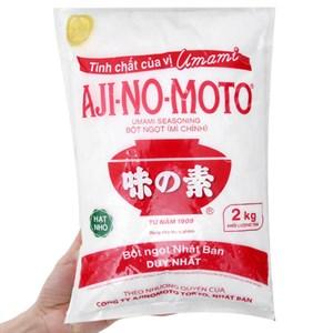 Bột ngọt Ajinomoto hạt nhỏ bịch 2kg