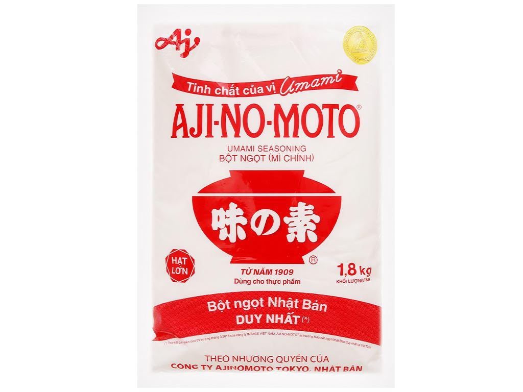 Bột ngọt Ajinomoto gói 1,8kg 1