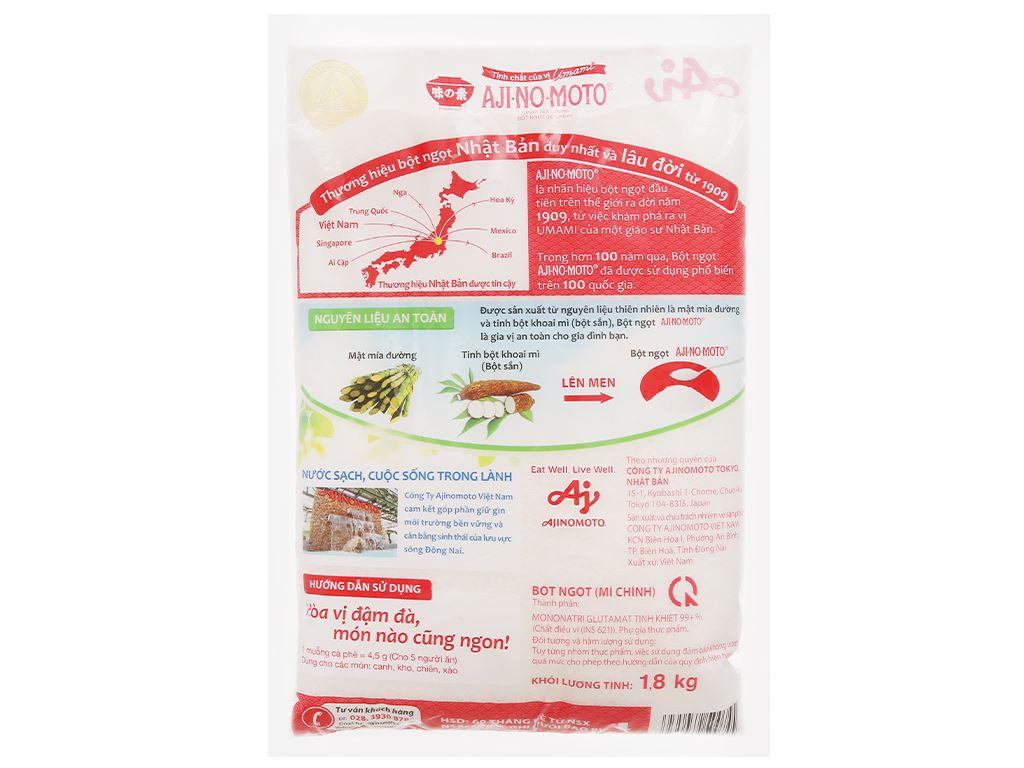 Bột ngọt Ajinomoto gói 1,8kg 2