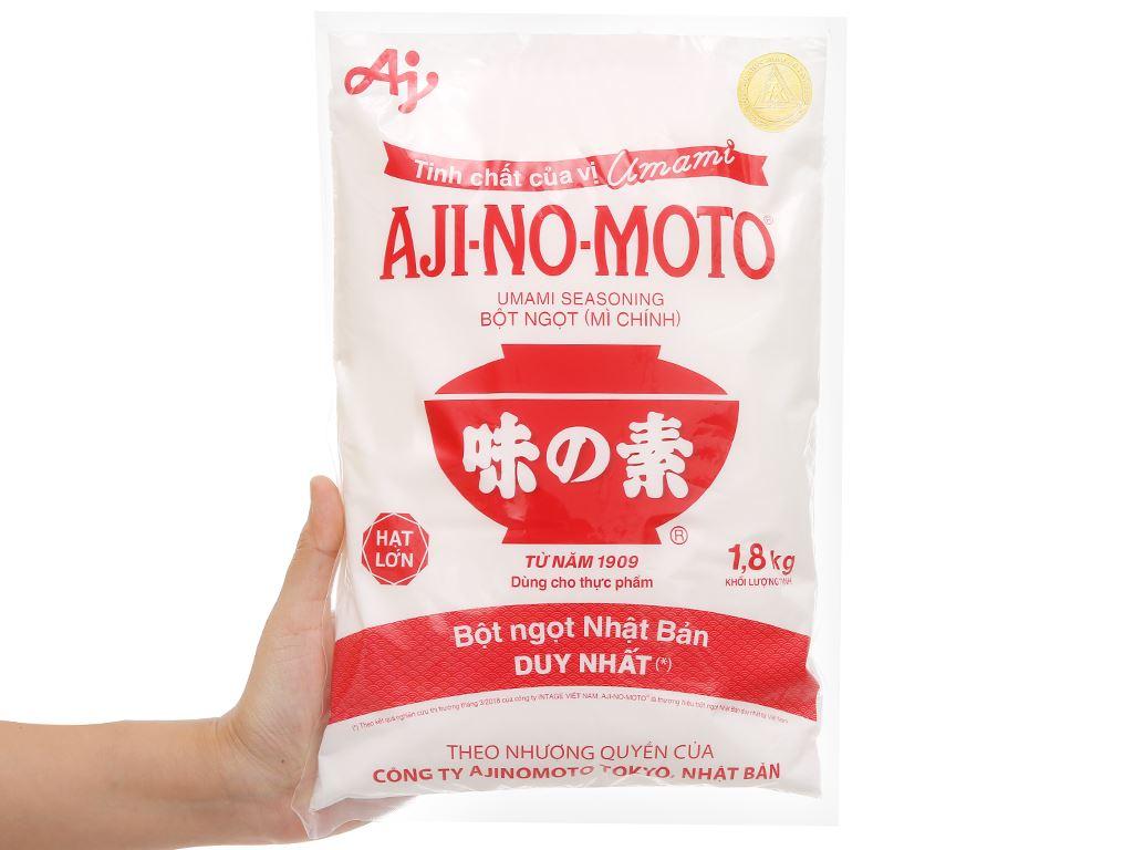 Bột ngọt Ajinomoto gói 1,8kg 4
