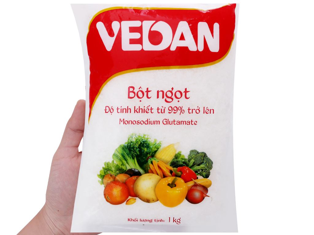 Bột ngọt hạt nhỏ Vedan gói 1kg 3