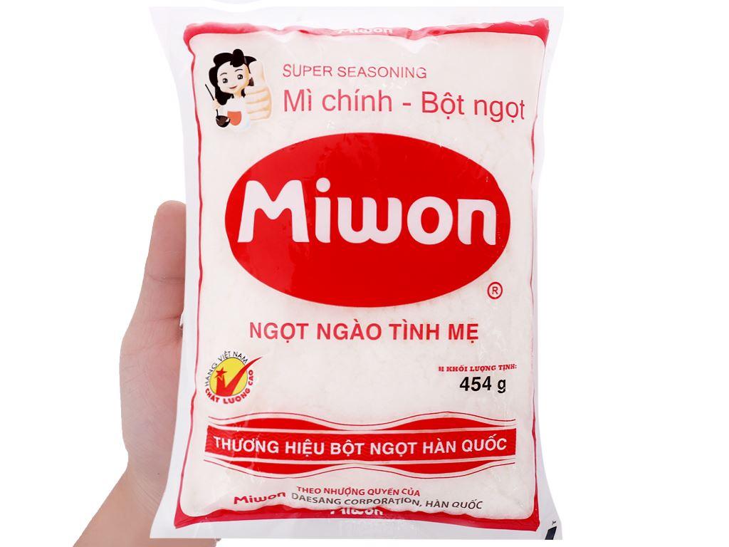 Bột ngọt hạt nhỏ Miwon gói 454g 3