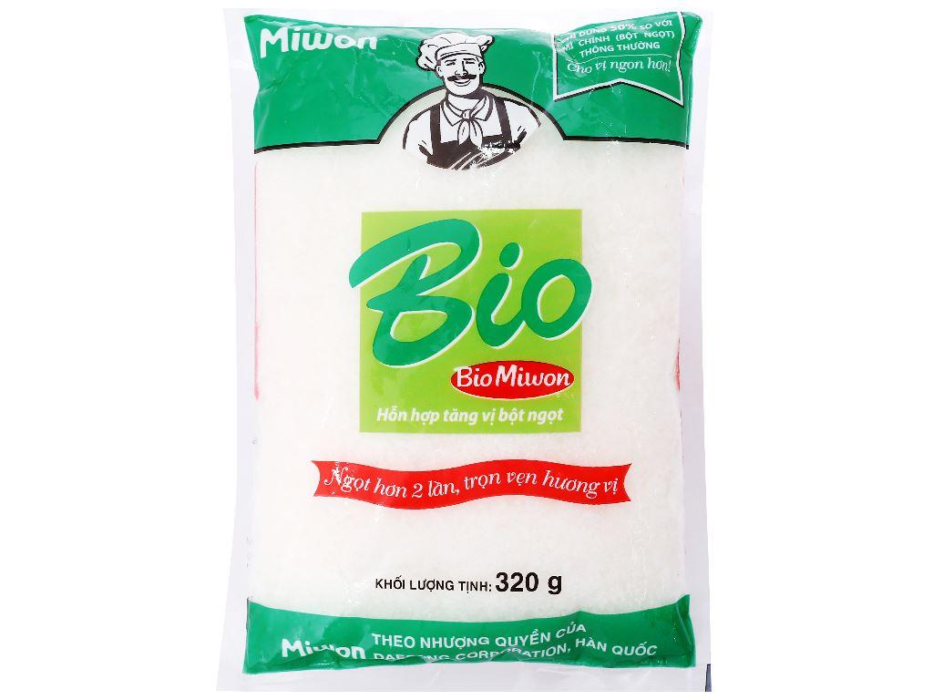 Hỗn hợp tăng vị bột ngọt hạt nhỏ Bio Miwon gói 320g 1