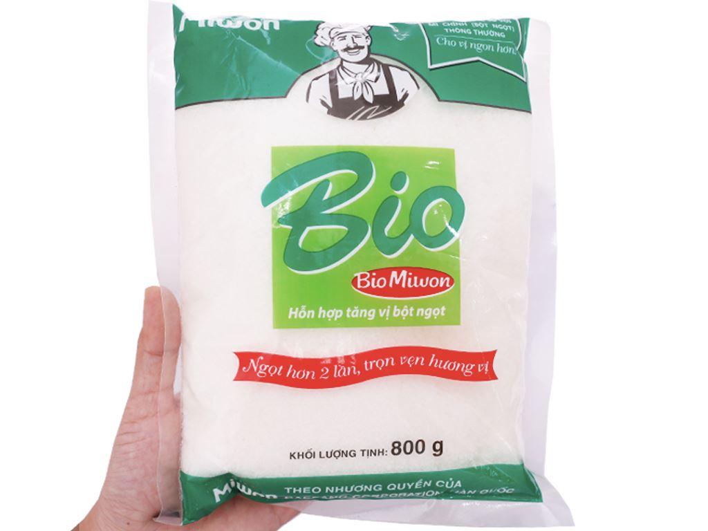 Hỗn hợp tăng vị bột ngọt Bio Miwon gói 800g 3