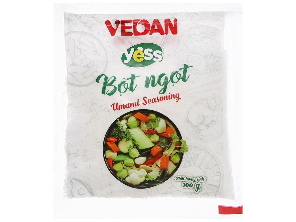Bột ngọt hạt lớn Vedan Yess gói 100g 1
