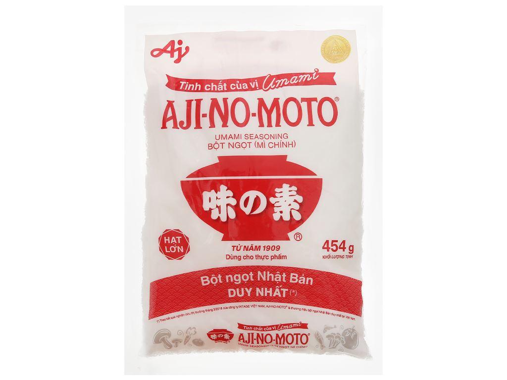 Bột ngọt Ajinomoto gói 454g 1