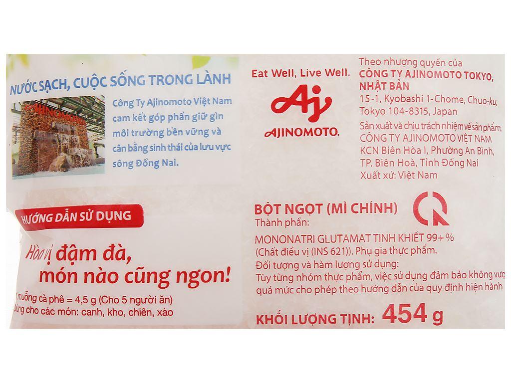 Bột ngọt Ajinomoto gói 454g 3