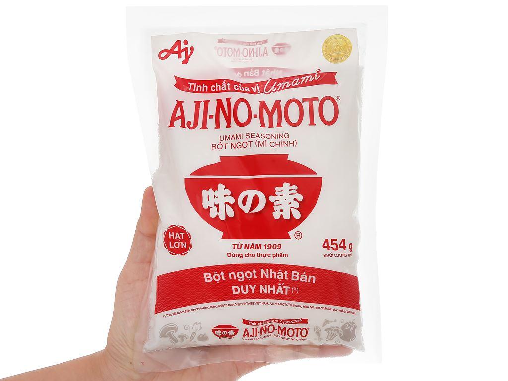 Bột ngọt Ajinomoto gói 454g 5