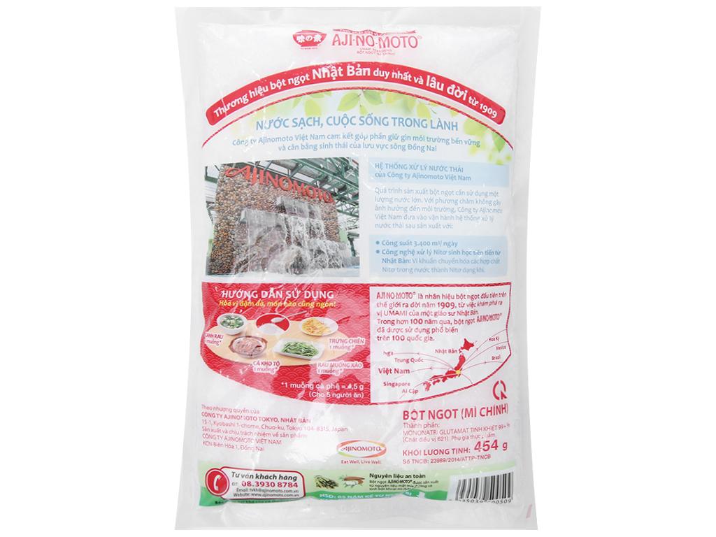 Bột ngọt Ajinomoto hạt lớn gói 454g 2