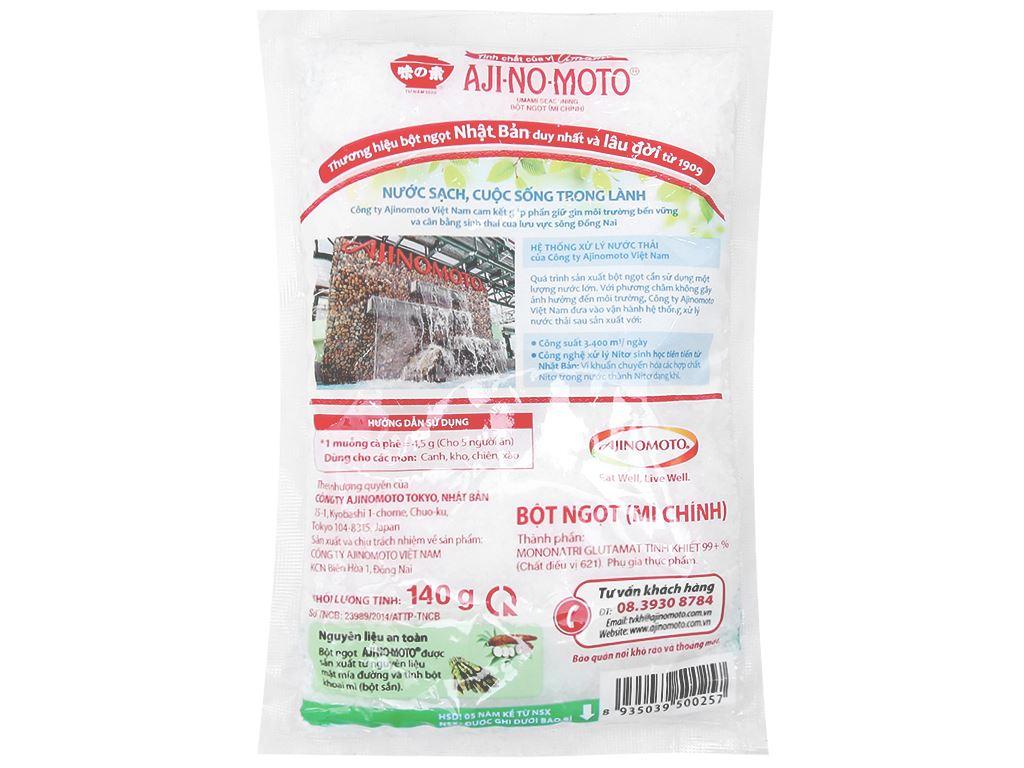 Bột ngọt Ajinomoto gói 140g 2