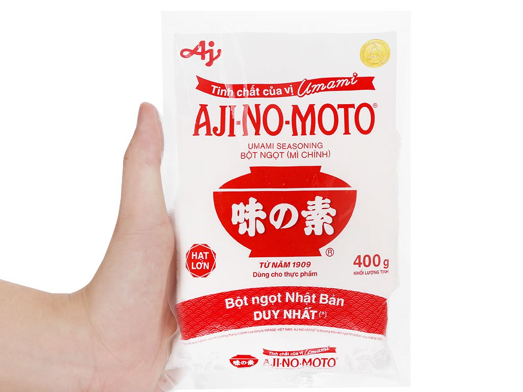 Bột ngọt Ajinomoto gói 400g 10