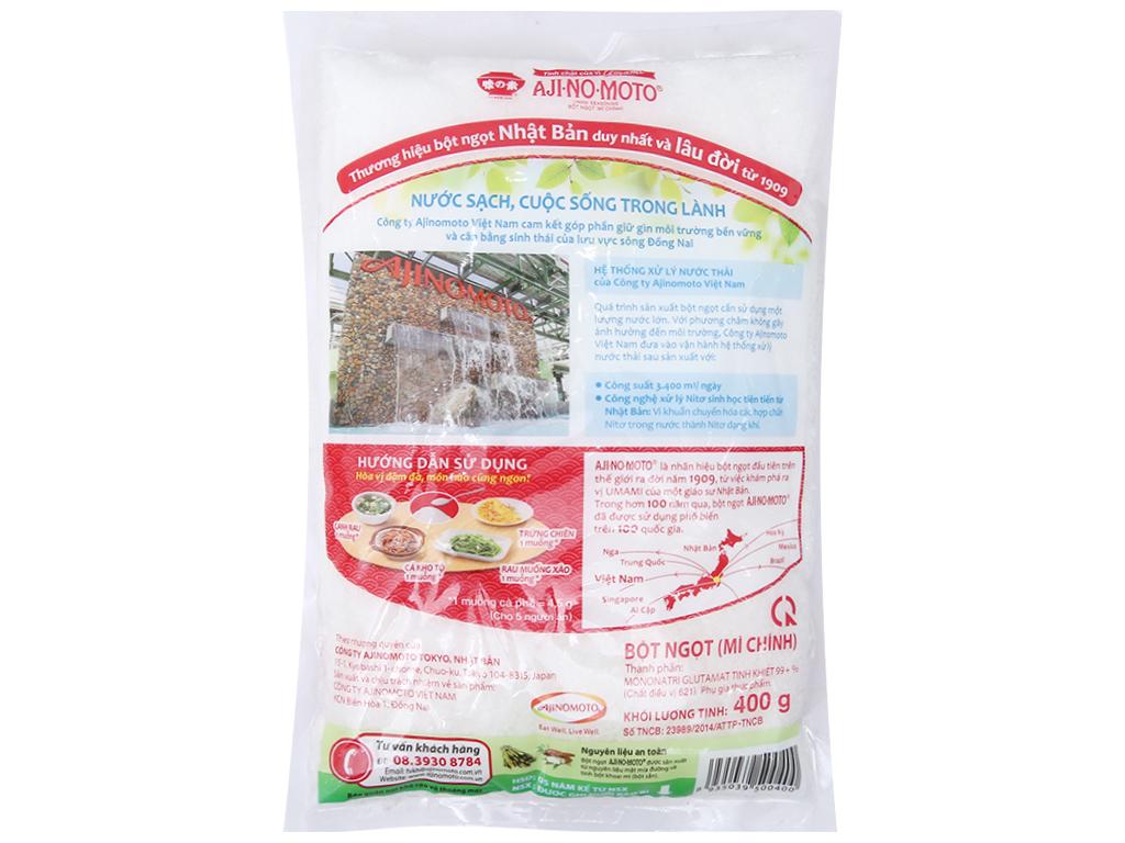 Bột ngọt Ajinomoto hạt lớn gói 400g 2