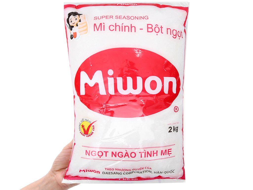 Bột ngọt Miwon gói 2kg 3