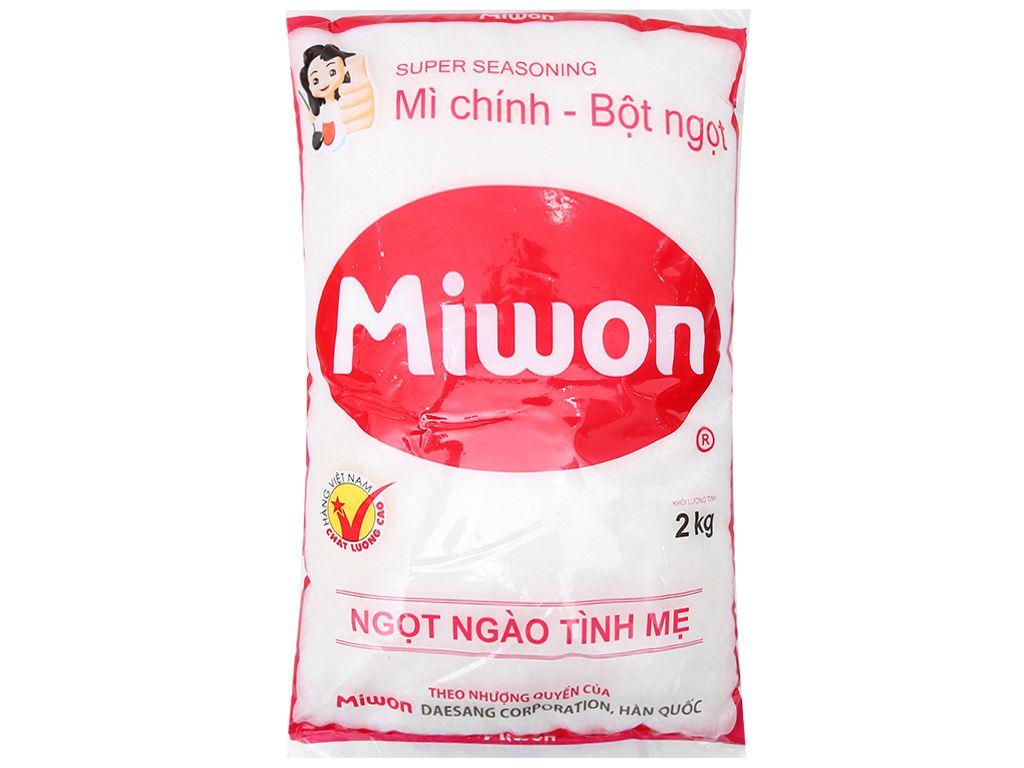 Bột ngọt Miwon gói 2kg 1